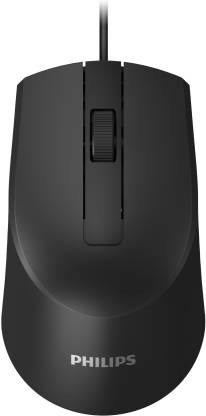 Philips SPK7104 Wired Optical Mouse  (USB 2.0)
