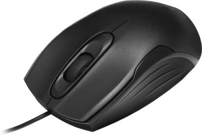 Zebronics ZEB-DLM10 Wired Optical Mouse  (USB 3.0, USB 2.0)