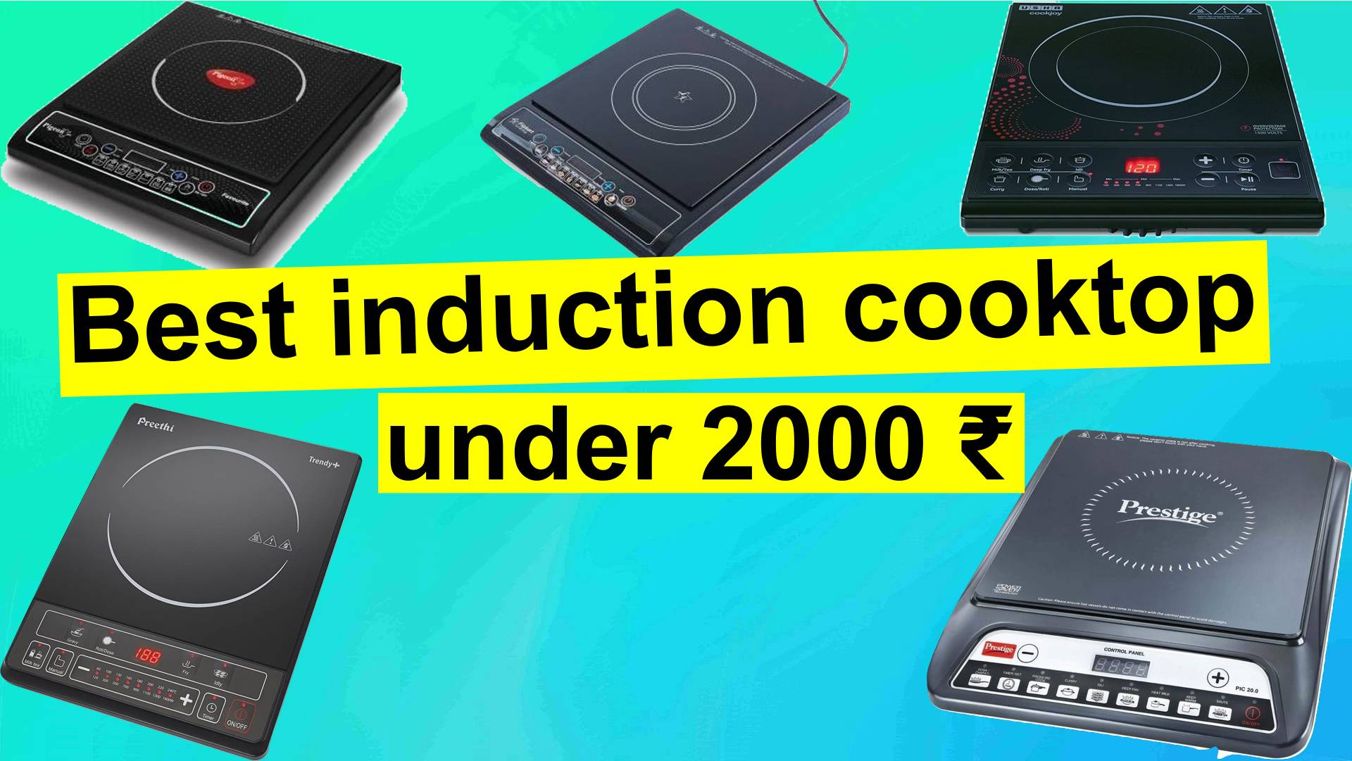 Best induction cooktop under Rs 2000 in India