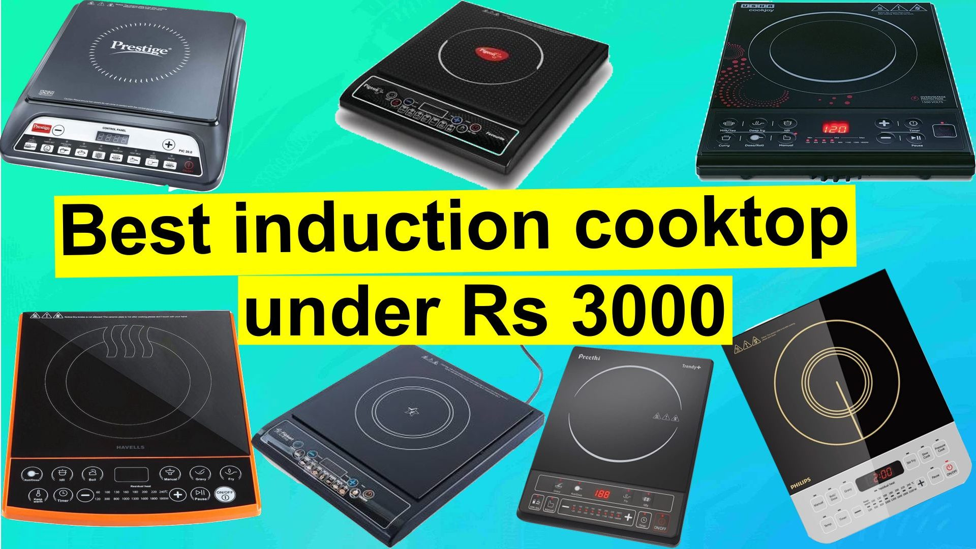 Best induction cooktop under Rs 3000