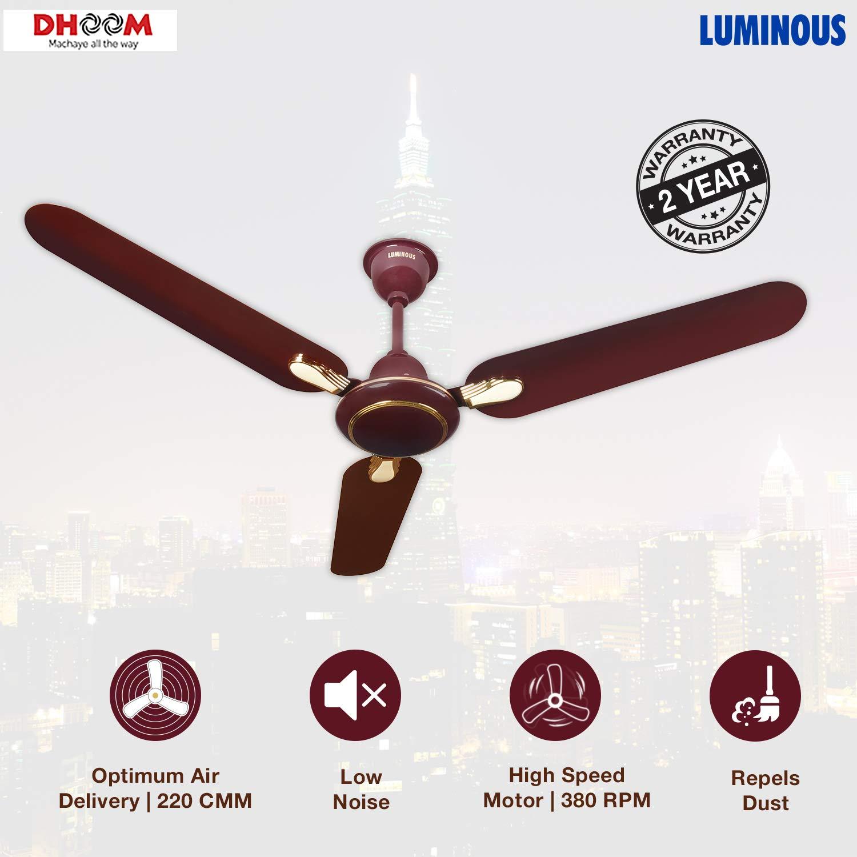Luminous Dhoom 1200mm 70-Watt High Speed Ceiling Fan
