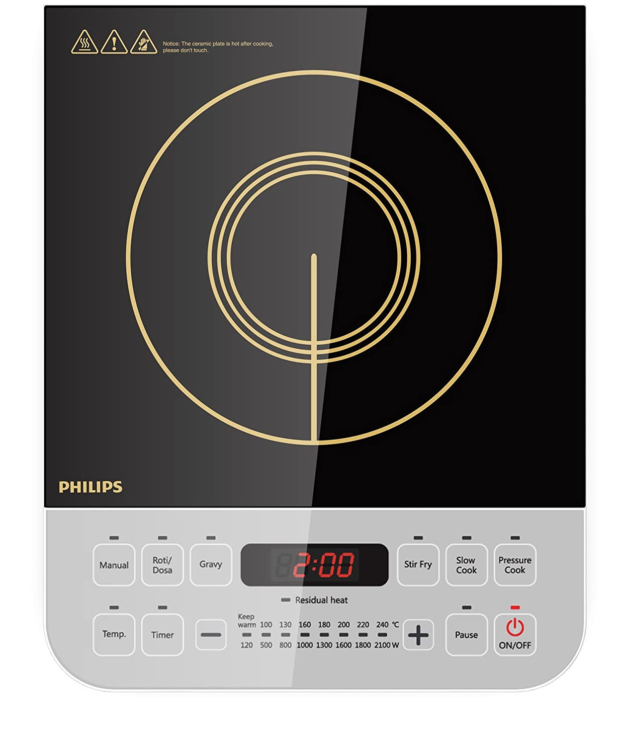 Philips HD492801 Induction Cooktop