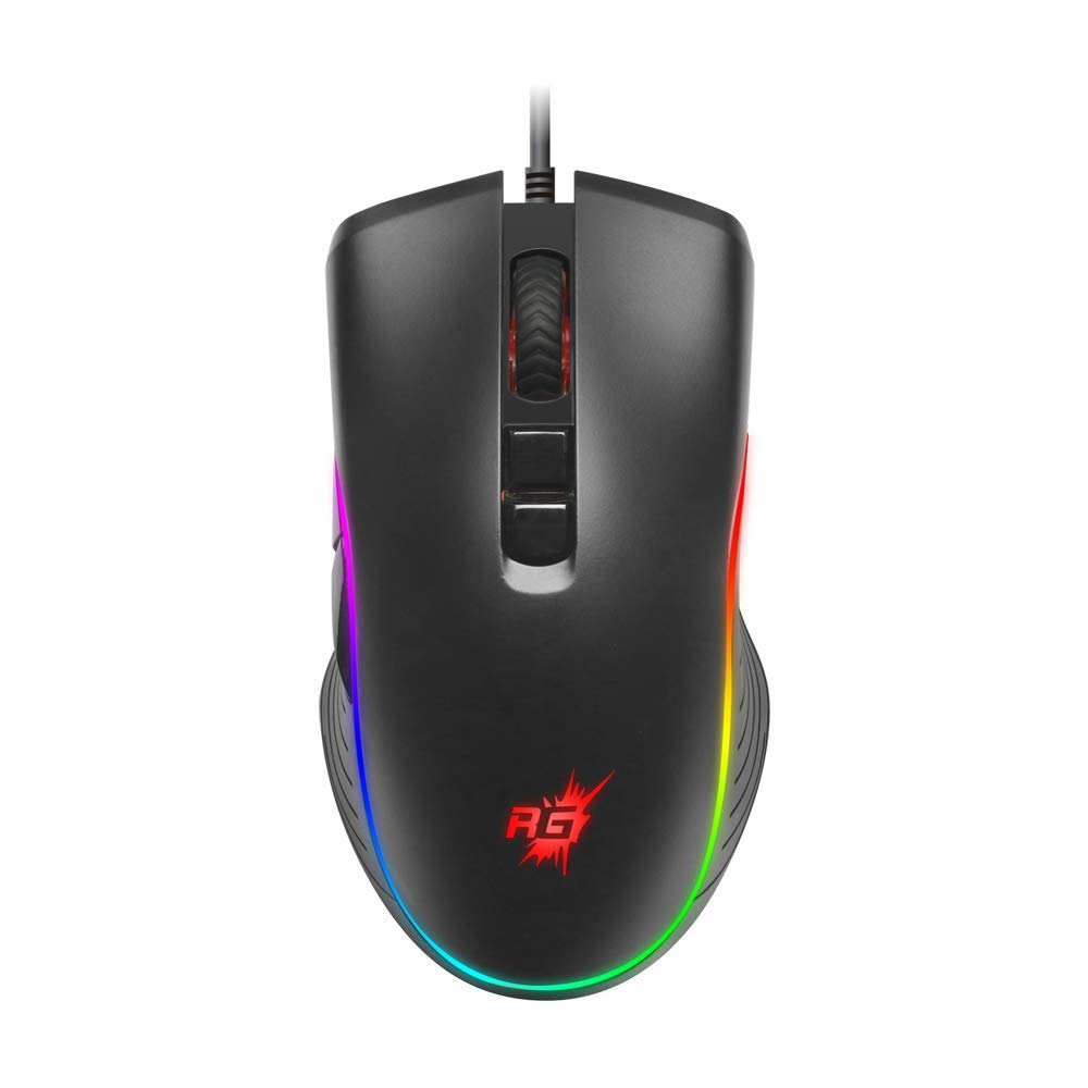 Redgear A-20 Gaming Mouse with RGB and Upto 4800 dpi
