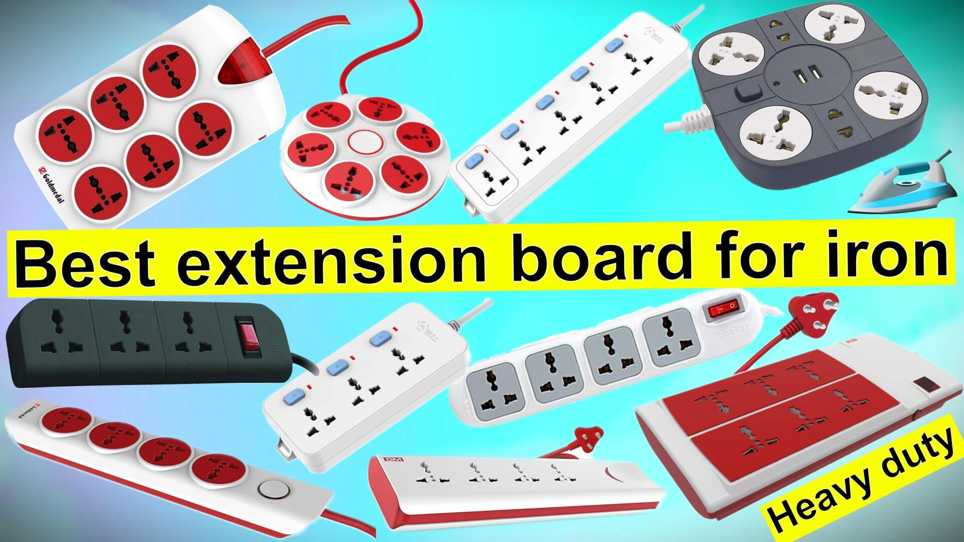 Best extension board for iron in India