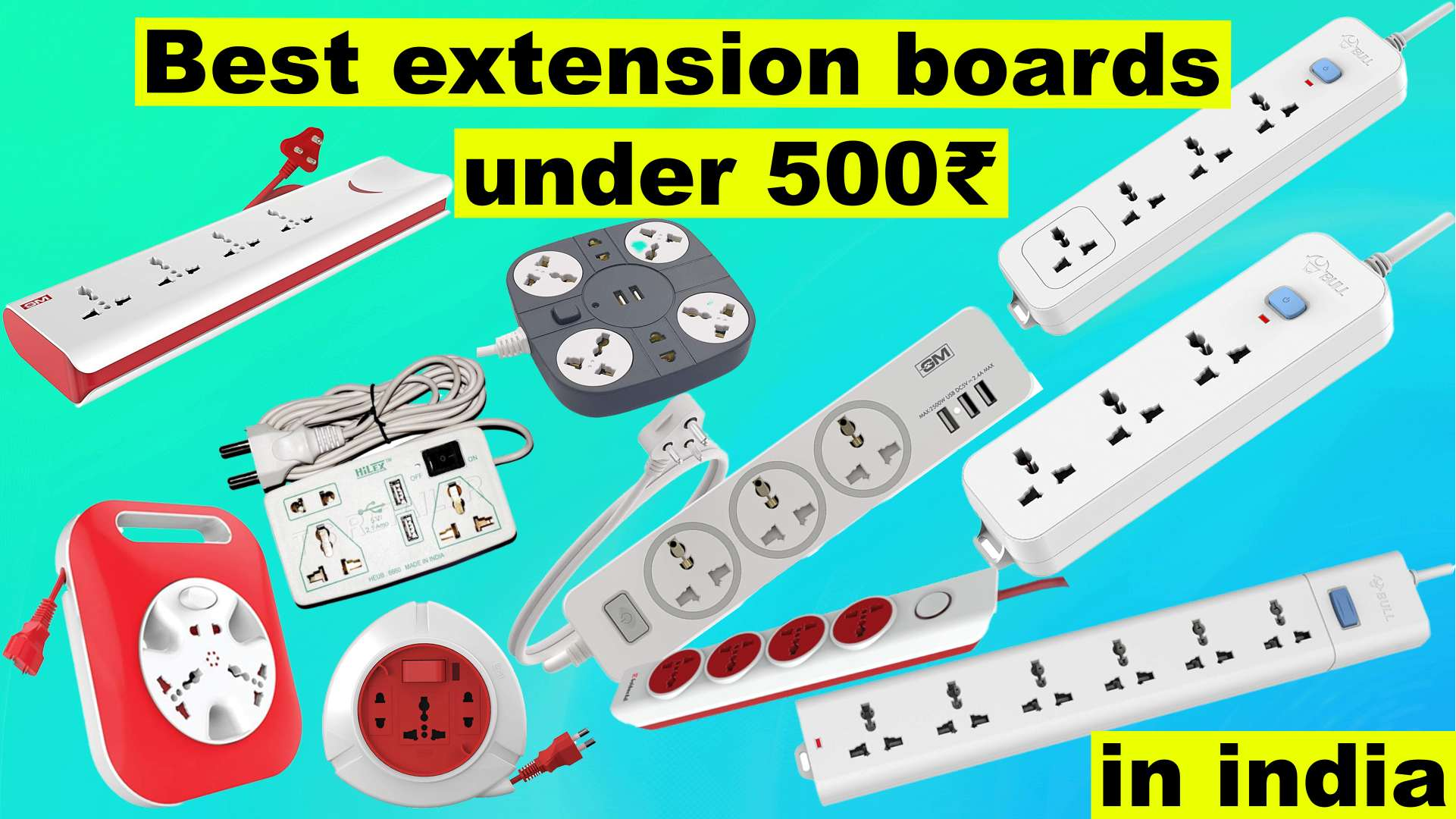 best extension boards under 500 Rs in India