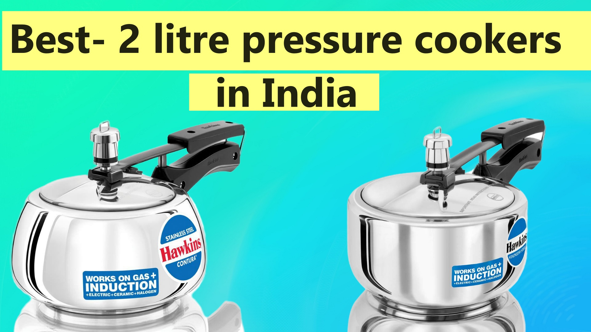 Best 2 litre pressure cookers in India