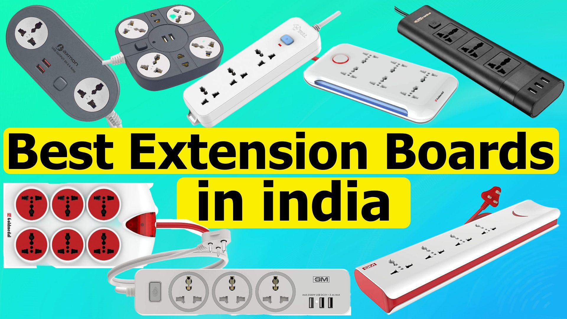 Best extension boards in India