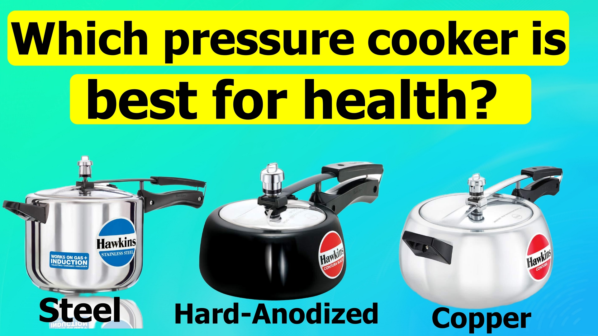 Which pressure cooker is best for health